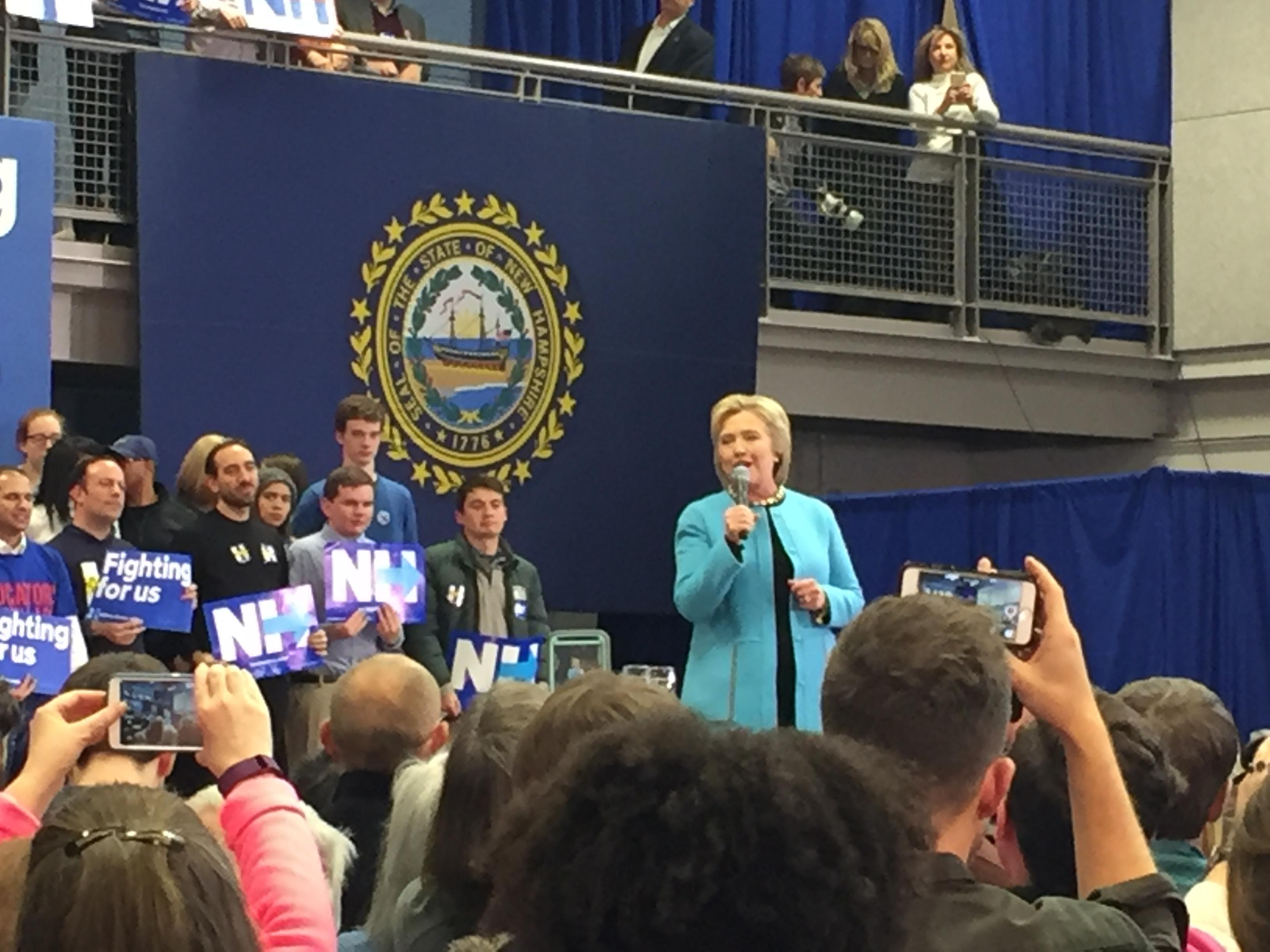 Back to the Future in New Hampshire with Bill, Hillary and Chelsea Clinton