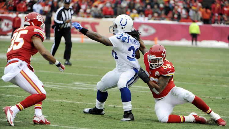 NFL: Indianapolis Colts at Kansas City Chiefs