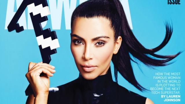 Kim Kardashian on the Success of Her Mobile App and Her Social Media Empire