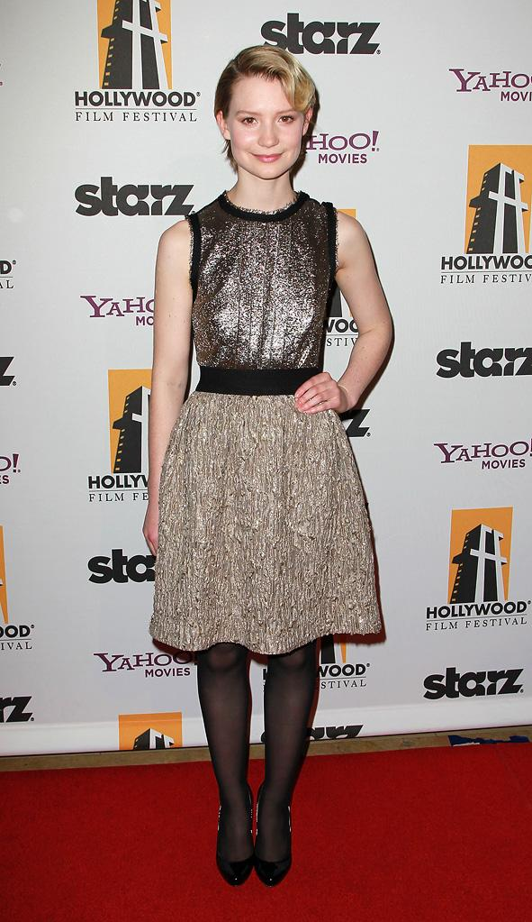 2010 Hollywood Awards Mia Wasikowska