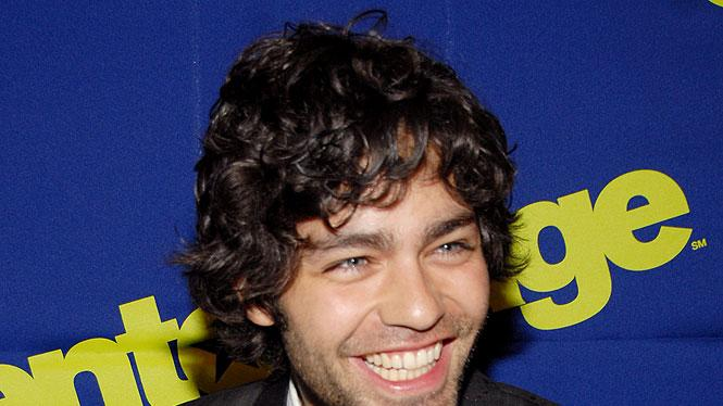 "Adrian Grenier at the ""Entourage"" Season Three New York Premiere."