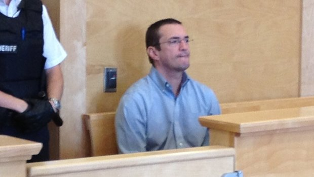 Donnie Snook in a Corner Brook, N.L., courtroom on Aug. 20, 2013.
