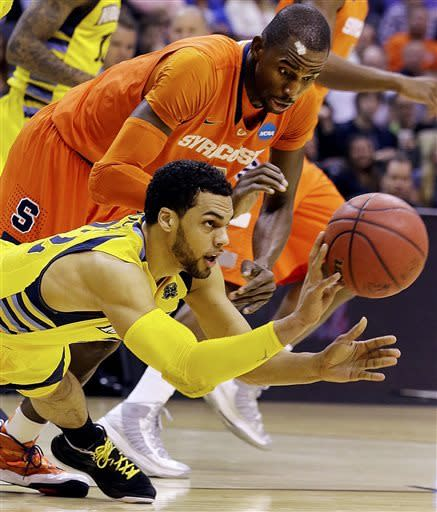 Syracuse on to Final Four, beats Marquette 55-39