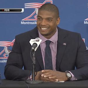 Michael Sam on joining Montreal Alouettes: 'I'm so excited to get back on the field'