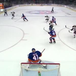 Jaroslav Halak Save on Zdeno Chara (14:10/2nd)