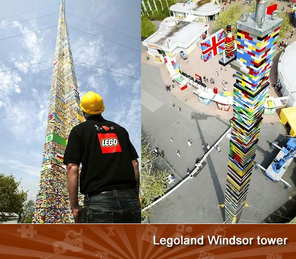 Legoland Windsor tower