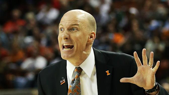John Groce of the Illinois Fighting Illini