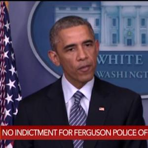 Obama on Ferguson Verdict: This Is an Issue for America