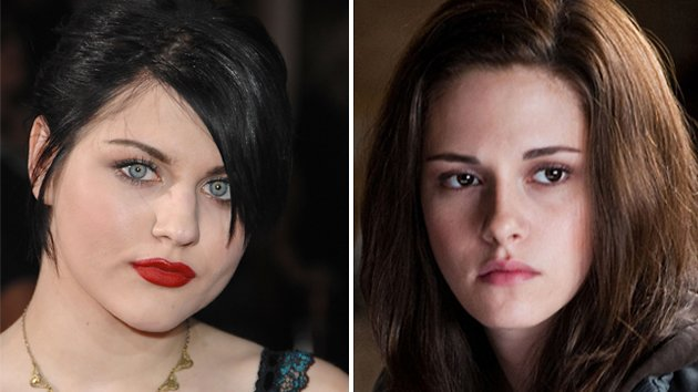 Frances Bean Cobain and Kristen Stewart