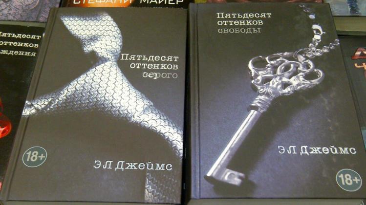 """""""50 Shades Of Grey"""" is a big seller in Russia too. (Sunaya Sapurji)"""