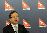 Qantas chief executive Alan Joyce (pictured in May) has ruled out an equity raising despite the embattled airline's flailing share price, saying that major stakeholders were supportive of the carrier. Shares in the flagship Australian airline last week dived under Aus$1 (US$0.99) for the first time since Qantas was floated in 1995