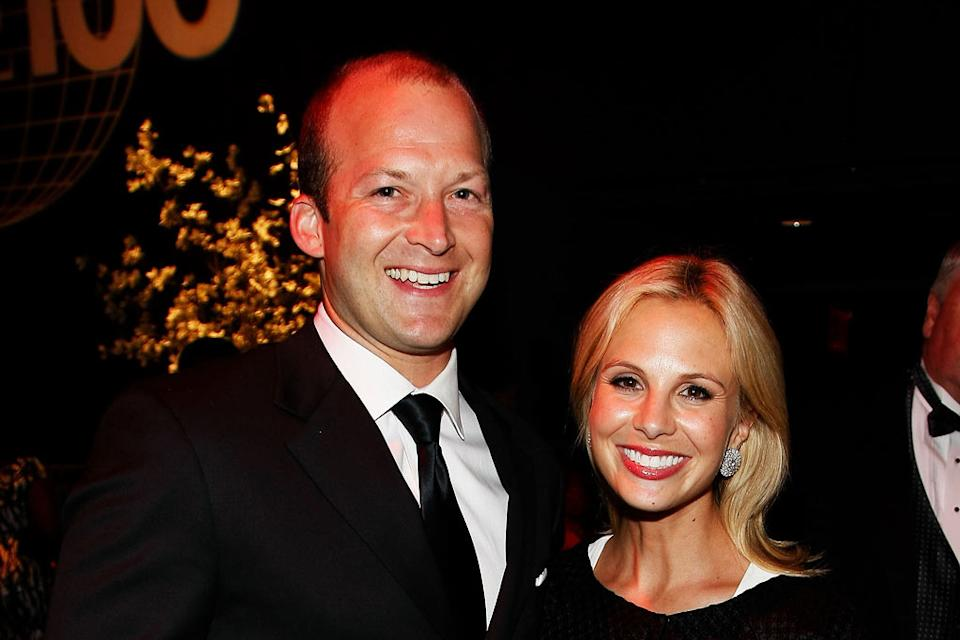 Tim Hasselbeck and Elisabeth Hasselbeck attend Time's 100 Most Influential People in the World Gala at the Frederick P. Rose Hall at Jazz at Lincoln Center on May 5, 2009 in New York City.