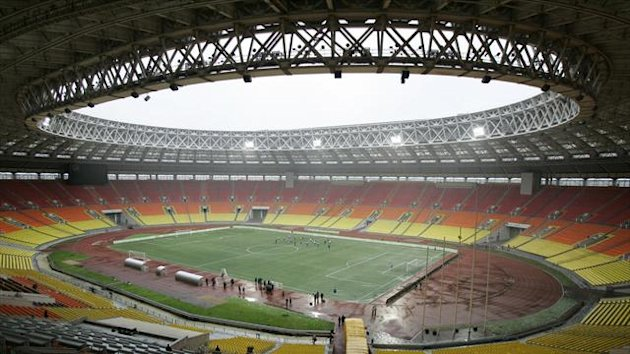 A general view of Moscow&#39;s Luzhniki Stadium (Reuters)