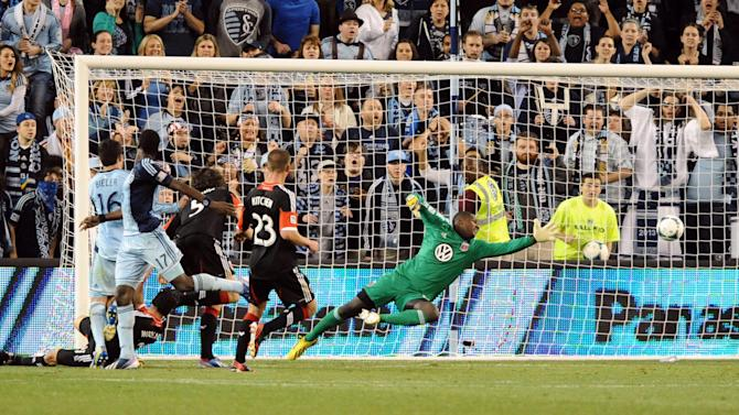 MLS: D.C. United at Sporting KC