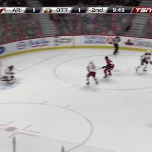 Mike Smith Save on Bobby Ryan (10:12/2nd)