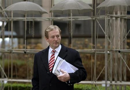 Le Premier ministre irlandais Enda Kenny a estim mardi que les couvents de la Madeleine, o des milliers de jeunes femmes ont t exploites pendant plus de 70 ans, constituaient &quot;une honte nationale.&quot; /Photo prise le 8 fvrier 2013/REUTERS/Eric Vidal