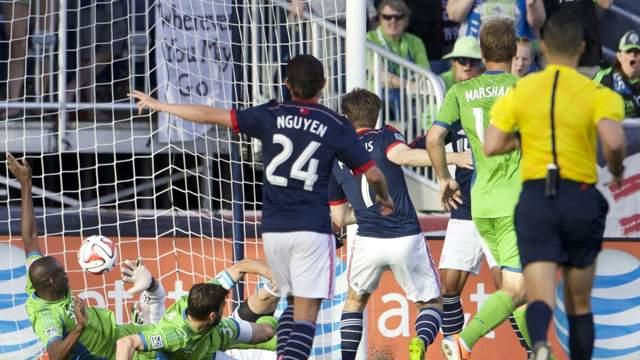 New England Revolution 5-0 Seattle Sounders FC: Revs end Seattle streak in emphatic fashion