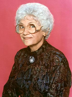 Estelle Getty 'The Golden Girls' on Lifetime Golden Girls