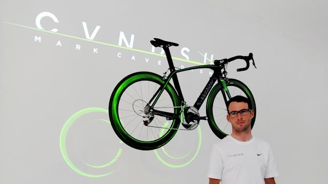 Cycling - Mark Cavendish Brand Launch - The Icetank