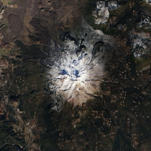 Bare Mount Shasta Reveals California Drought Sever …