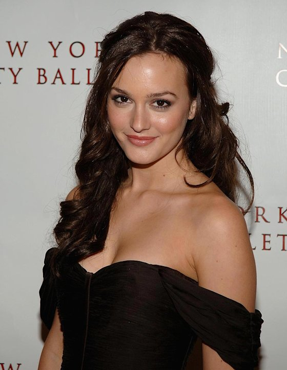 Leighton Meester attends the 2007-2008 New York City Ballet Opening Night Gala. 