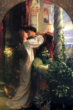 """Romeo and Juliet"", Sir Francis Dicksee (1884)"