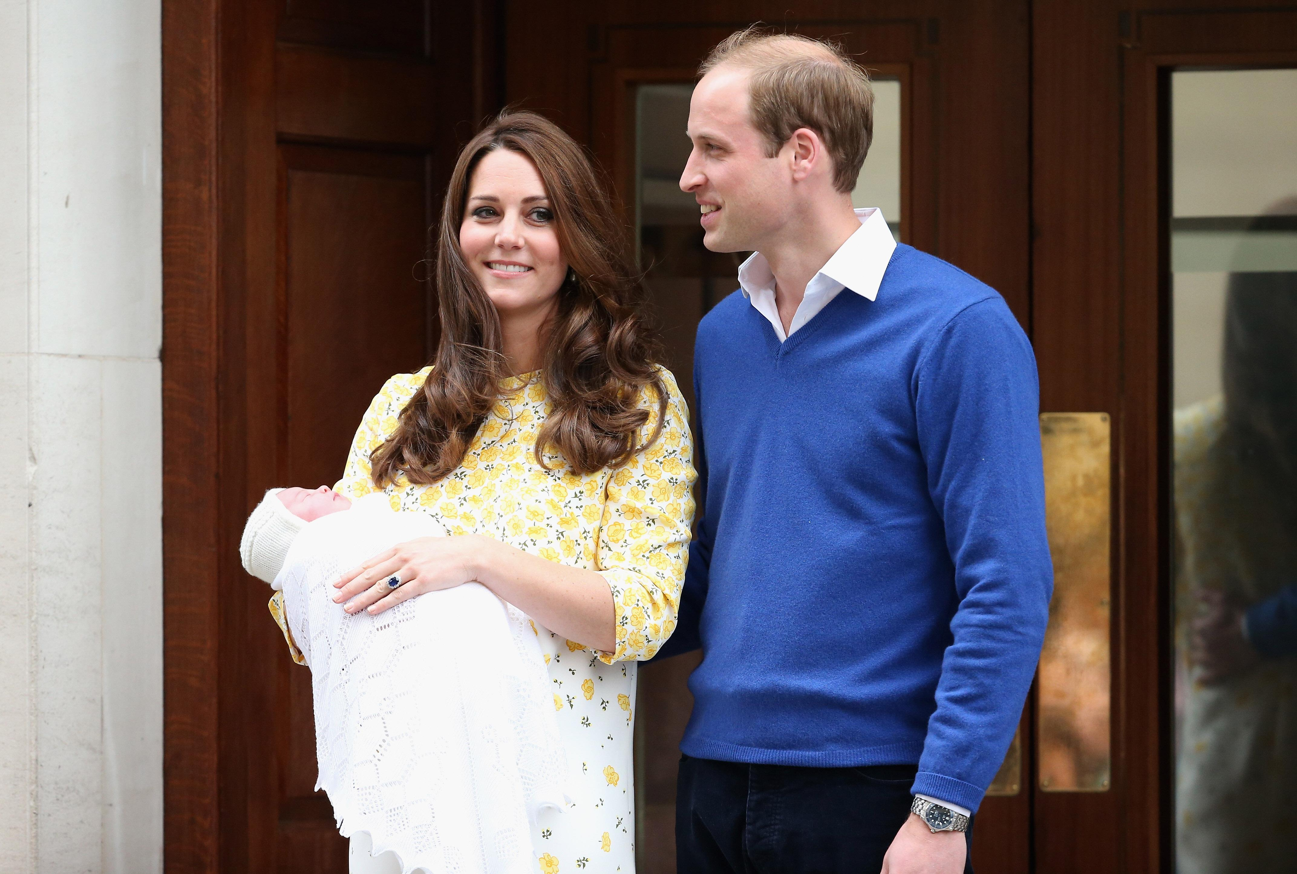 Kate Middleton and Prince William Introduce Baby Girl
