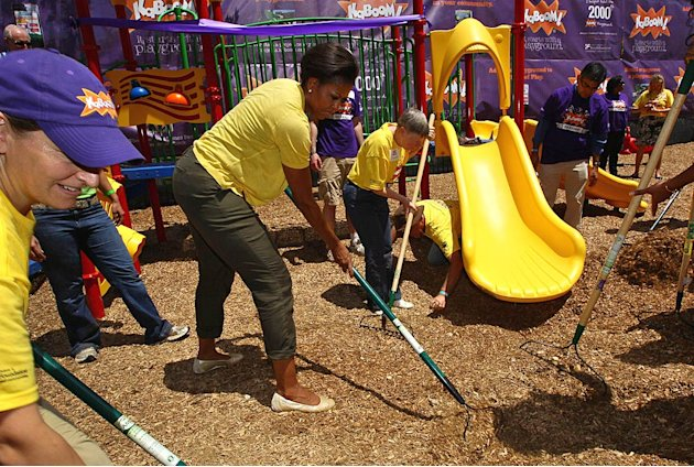 Michelle Obama DC Playground