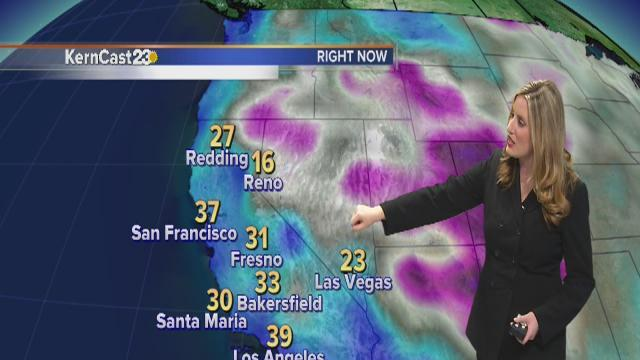 Tuesday forecast: freezing yet again