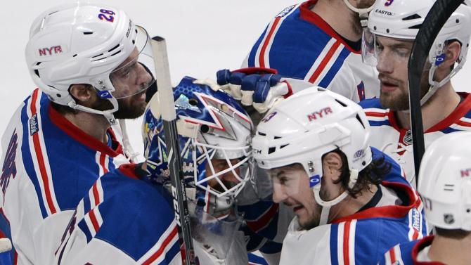 Rangers look toward fired-up MSG for Game 3