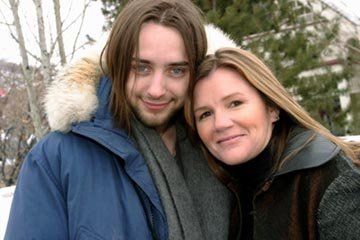 Vincent Kartheiser and Mare Winningham
