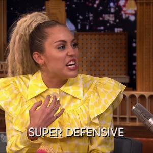 Miley Cyrus Has an Emotional Interview With Jimmy Fallon