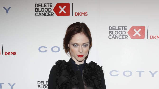 IMAGE DISTRIBUTED FOR COTY - Coco Rocha steps out to support the fight against leukemia and other blood-related cancers at the seventh annual Delete Blood Cancer Gala, presented with support from founding corporate sponsor Coty Inc., at Cipriani Wall Street, Wednesday, May 1, 2013 in New York. The event raised $3.7 million to support the fight against leukemia and other blood-related cancers. (Photo by Jason DeCrow/Invision for Coty/AP Images)