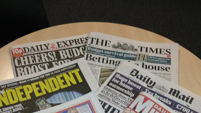 What the papers thought of the 2012 Budget
