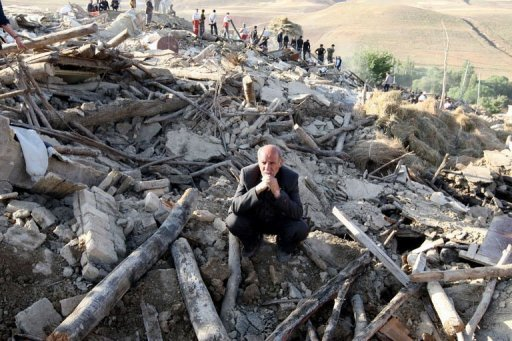 More than 16,000 people were left homeless by the twin earthquake