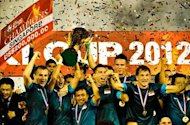 Singapore win big at AFF Awards 2013
