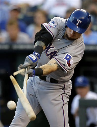 Rangers top Royals in 10 to extend AL West lead