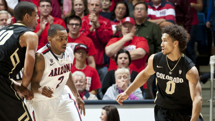 NCAA Basketball: Colorado at Arizona