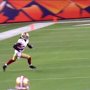 San Francisco 49ers wide receiver Brandon Lloyd 37-yard reception