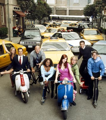 Andrea Parker, Patrick Warburton, Will Sasso, Sherri Shepherd, Sara Rue, Andy Dick, Zachary Levi and Eric Roberts ABC's Less Than Perfect