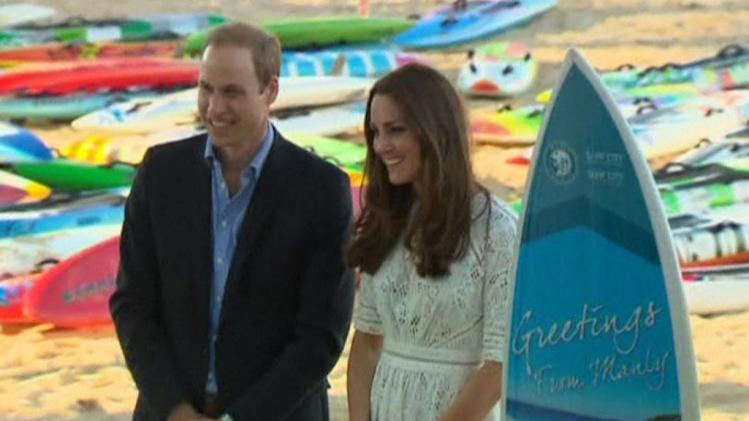 British royals soak up Sydney