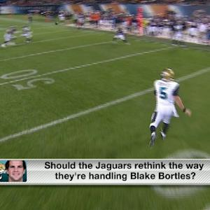 Are the Jacksonville Jaguars mishandling quarterback Blake Bortles?