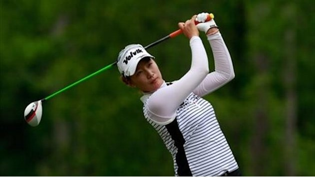 Golf - Course record for Nordqvist as Choi takes lead