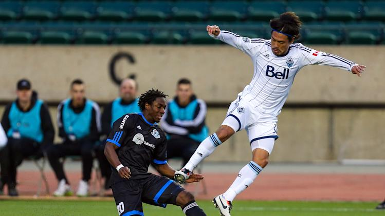 MLS: Canadian Championship-Vancouver Whitecaps at FC Edmonton