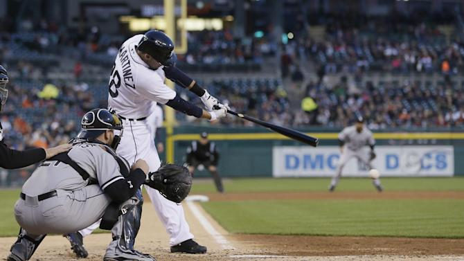 Semien's slam lifts White Sox over Tigers 6-4
