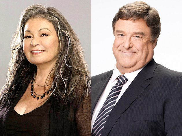 Roseanne Barr and John Goodman …