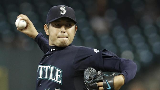 Cano and Seager lead Mariners over Astros 13-2