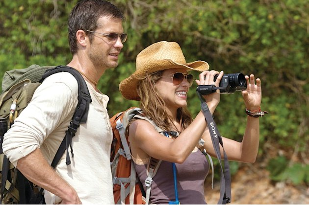 A Perfect Getaway production photos 2009 Rogue Pictures Timothy Olyphant Kiele Sanchez