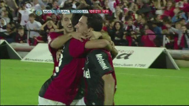 Newell's Old Boys beat Racing Club in seven-goal thriller