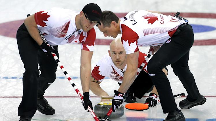 Sweden, Canada reach Olympic curling semifinals